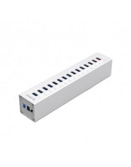 A3H13P2 13 Ports USB3.0 HUB + 2 Charger w/ power 12V 5A