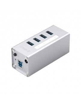 A3H4-U3-V2 USB3.0 High-speed HUB with BC1.2 Charger