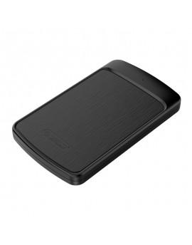 2020U3 USB3.0 2.5 inch SATA SSD Hard Drive Case Support 4TB Enclosure Box Black
