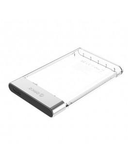 "2129U3 2.5"" External Harddrive Enclosure โอริโก้ กล่องอ่าน HDD 2.5"" แบบ USB3.0 Clear"