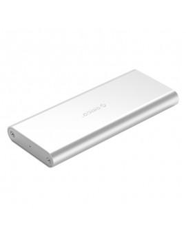 M2G-U3 Aluminum Alloy M.2 to Micro B High-speed SSD Enclosure Silver