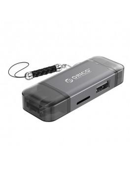 3CR61 USB3.0 6-in-1 Card Reader Grey