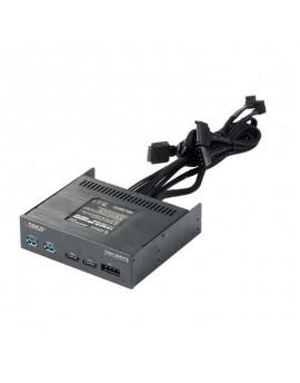 "BR5220P-FU32-2PE 5.25"" USB3.0+eSATA+power switch"