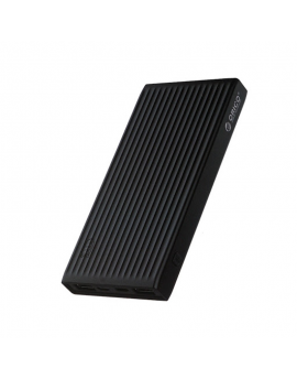 K10000 10000mAh USB-A & Type-C & Micro B Smart Power Bank